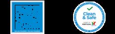 logos cleanandsafe
